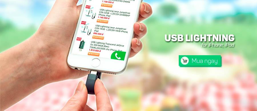 USB Lightning