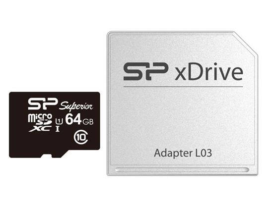 Silicon Power Micro xDrive L03 64GB For Mac - SP064GBSTXDU1V10AP