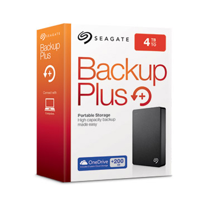 "Seagate Backup Plus Portable Drive 4TB 2.5""( STDR4000300)"