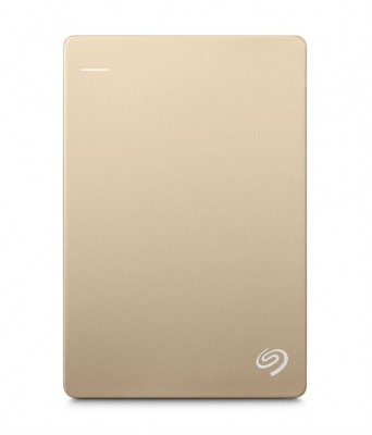 Seagate Backup Plus Slim 2TB (Gold)- STDR2000307