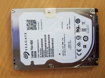 Seagate Laptop Thin HDD 500GB ST500LM021