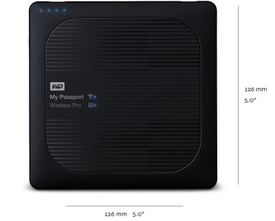 WD My Passport Wireless Pro 1TB WDBVPL0010BBK