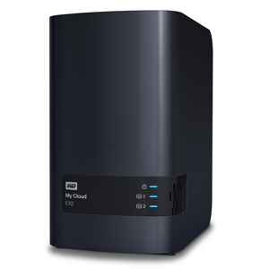 WD MY CLOUD EX2 12TB Multi City Asia ( WDBVKW0120JCH-SESN)