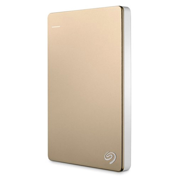Seagate Backup Plus Slim 2TB (Gold)- STDR2000309