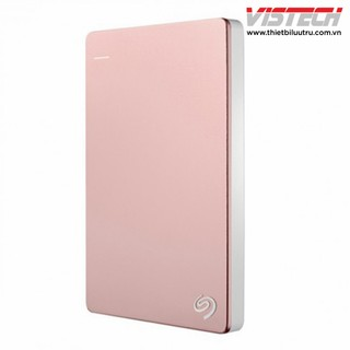 Seagate Backup Plus Slim Rose Gold 2TB (Hồng phấn) STDR2000300