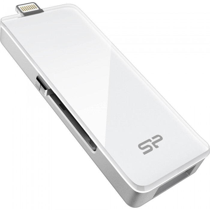 USB Lightning Silicon Power Z30 128GB - SP128GBLU3Z30V1W