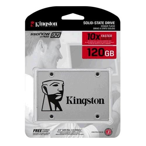 SSD Kingston Now UV400 120GB - SUV400S37/120G