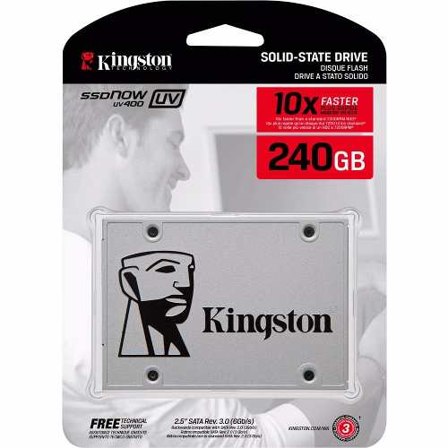 SSD Kingston Now UV400 240GB - SUV400S37/240G