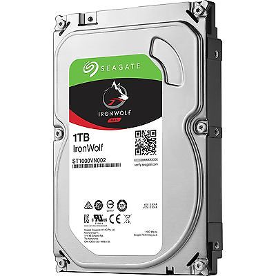 Ổ Cứng HDD NAS Seagate IronWolf 1TB - ST1000VN002