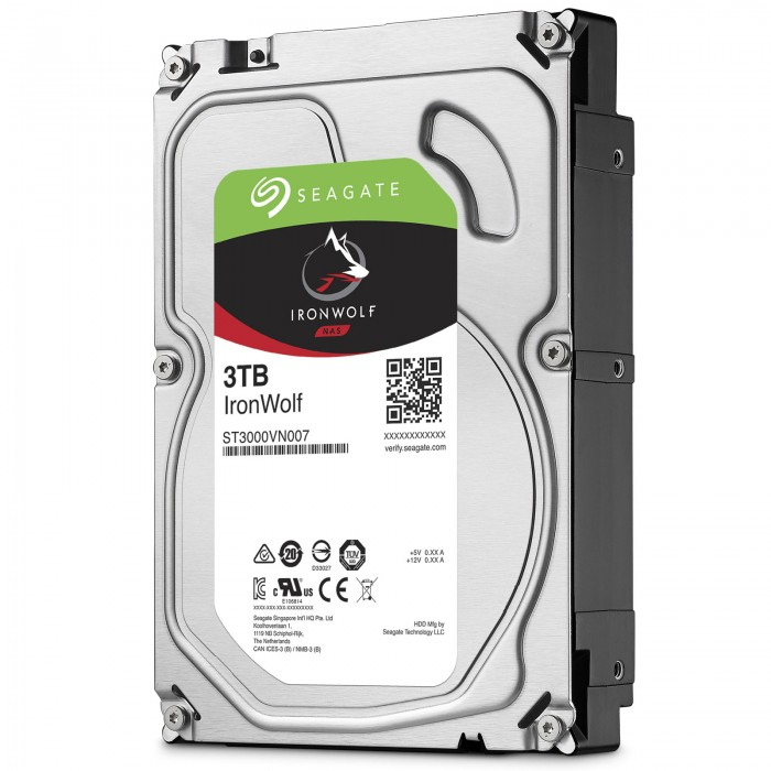 Ổ Cứng HDD NAS Seagate IronWolf 3TB -  ST3000VN007