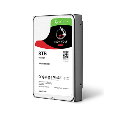 Ổ Cứng HDD NAS Seagate IronWolf 8TB -  ST8000VN004