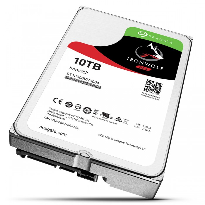 Ổ Cứng HDD NAS Seagate IronWolf 10TB -  ST10000VN0004