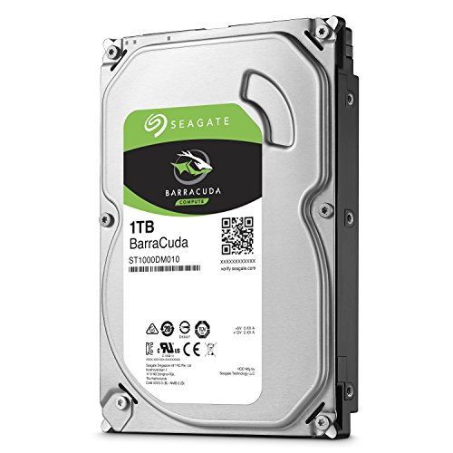 "BARRACUDA HARD DRIVE 1TB 3.5"" ST1000DM010"