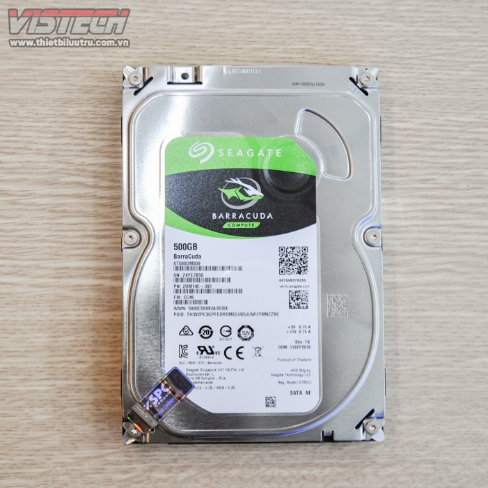 "BarraCuda HDD 500GB 3.5"" ST500DM009"