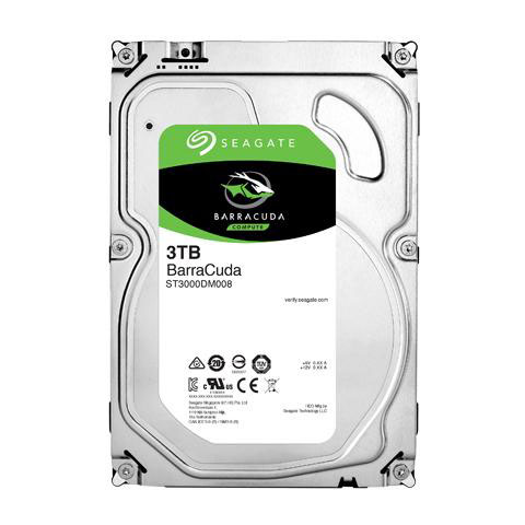 "Barracuda HDD 3TB 3.5"" ST3000DM008"