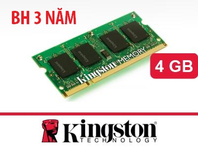 Kingston laptop DDR3 4GB Bus 1600Mhz PC3