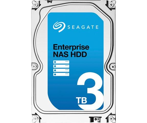 Seagate ENTERPRISE NAS HDD+Rescue 3TB ST3000VN0011