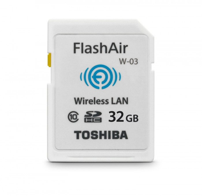 Thẻ nhớ SD Toshiba 32GB Flash Air Wireless Class 10 / Wifi SD Card