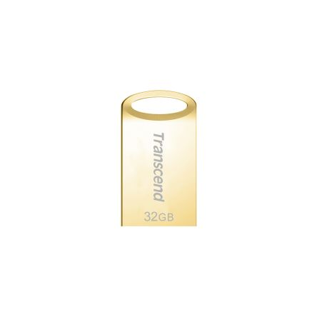 Transcend's JetFlash 710G USB 3.1 Type A connectors Flash Drive 32 GB Vàng Gold TS32GJF710G