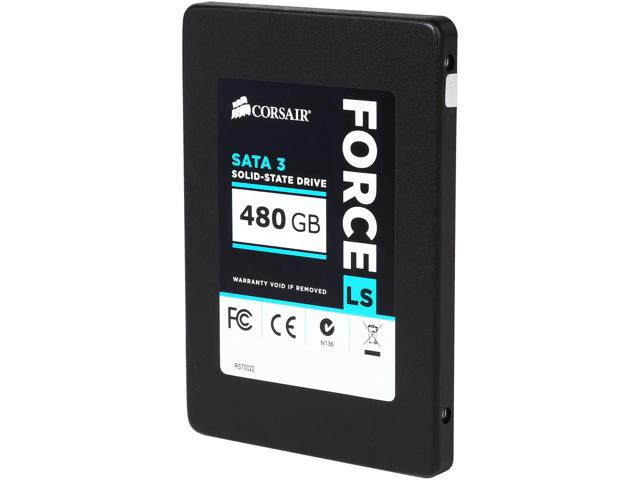 SSD Corsair Force LS 480GB Sata 3 CSSD-F480GBLSB