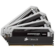 Ram Corsair Dominator Platinum 32GB(4x8GB) DDR4 Bus 3200 CMD32GX4M4B3200C16