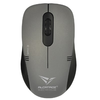 Mouse không dây Alcatroz Stealth AIR 3 D.Gray