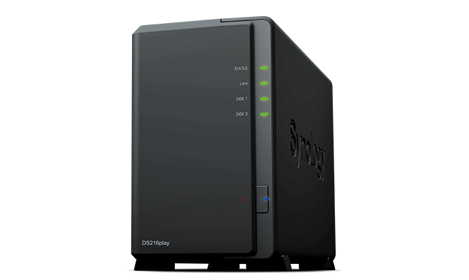 Ổ cứng mạng Synology DS216play