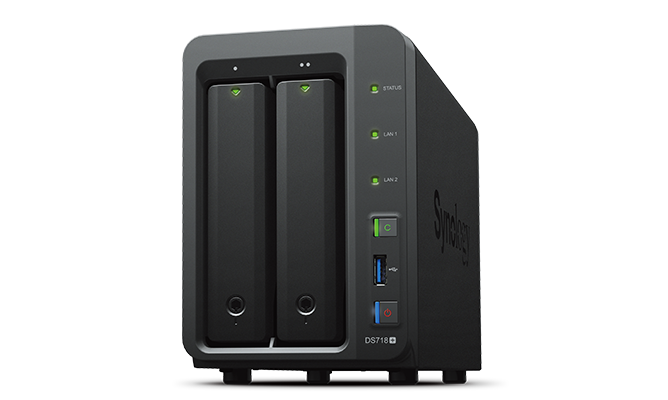 Ổ cứng mạng Synology DiskStation DS718+