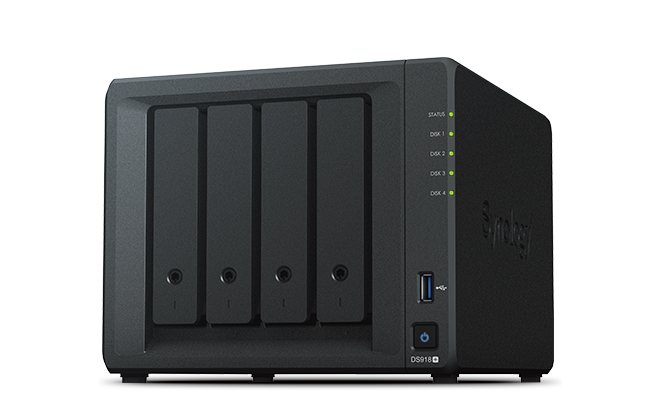 Ổ cứng mạng Synology Diskstation DS918+