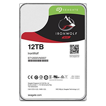 Ổ Cứng HDD NAS Seagate IronWolf 12TB -  ST12000VN0008