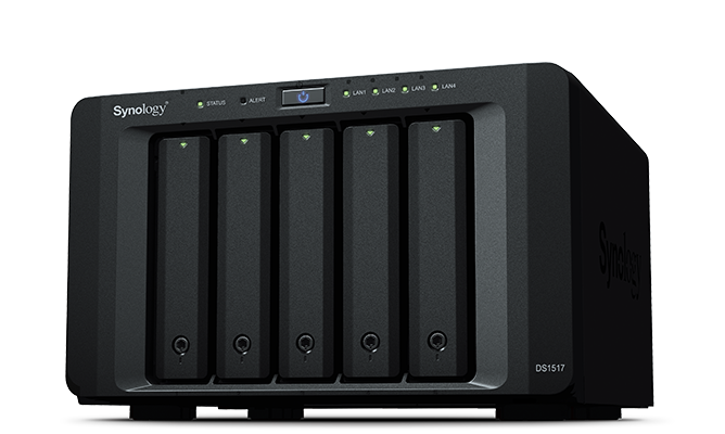 Ổ cứng mạng Synology DiskStation DS1517