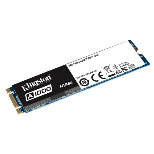SSD Kingston A1000 480GB NVMe PCIe SA1000M8/480G