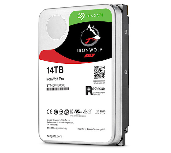 Ổ Cứng HDD NAS Seagate IronWolf 14TB - ST14000VN0008