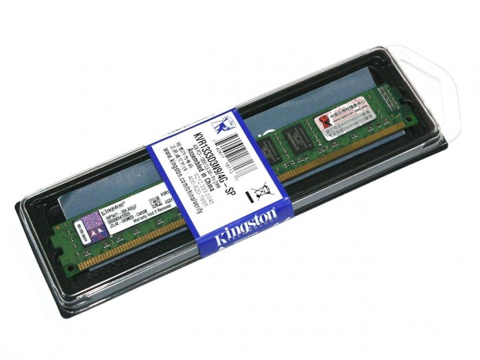 Ram PC Kingston 2GB DDR3-1600 LONG DIMM - KVR16N11S6A/2-SP