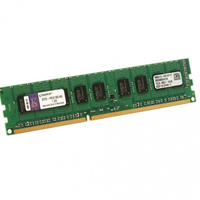 Ram PC Kingston 4GB DDR3L-1600 LONG DIMM 1.35V - KVR16LN11/4