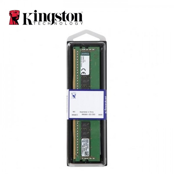 Ram PC Kingston 8GB 2666Mhz DDR4 CL18 DIMM 1Rx8 - KVR26N19S8/8