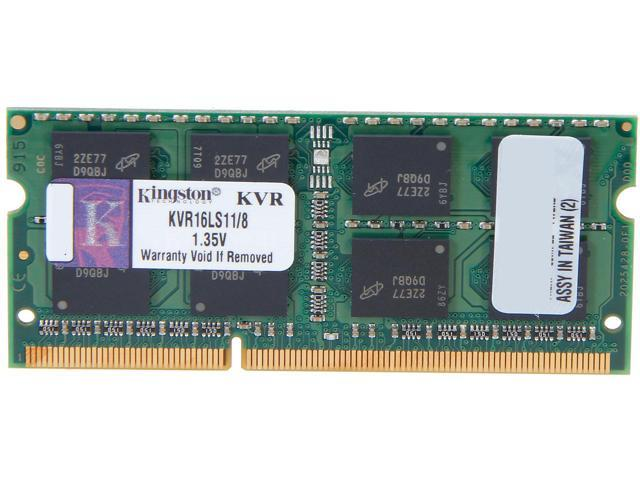 Ram Laptop Kingston 8GB DDR3L-1600 SODIMM 1.35V - KVR16LS11/8