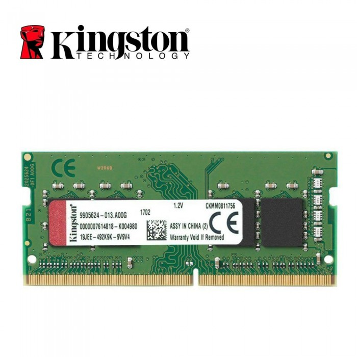 Ram Laptop Kingston 4GB DDR3L-1600 SODIMM 1.35VKingston SODIMM 1.2V 8GB 2666Hz DDR4 Non-ECC CL19 SODIMM 1Rx8 - KVR26S19S8/8