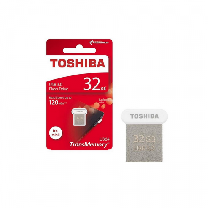 USB Toshiba Towadako 32GB White  mini U364