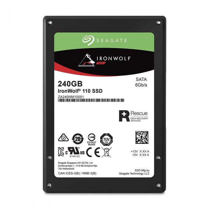 Ổ cứng Seagate IronWolf SSD 110 240GB - ZA240NM10001