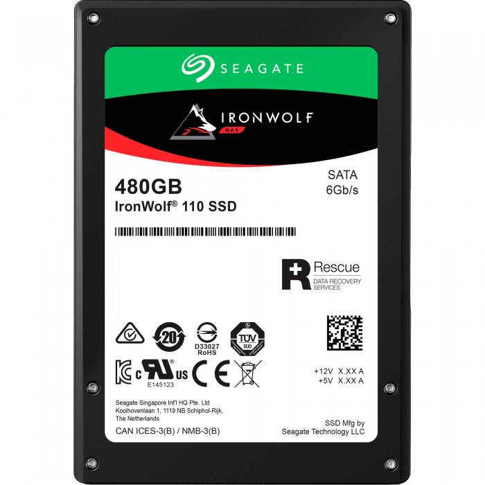 Ổ cứng Seagate IronWolf SSD 110 480 GB - ZA480NM10001