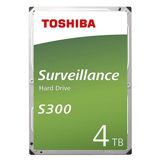 "Ổ cứng Toshiba Internal 3.5"" 4TB Surveillance S300 series (128MB) Low-spin SATA3 (6Gb/s)_HDWT140UZSVA"