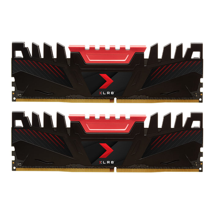 RAM  Kit PNY XLR8 16GB (2x8GB) DDR4 2666MHz (PC4-21300)