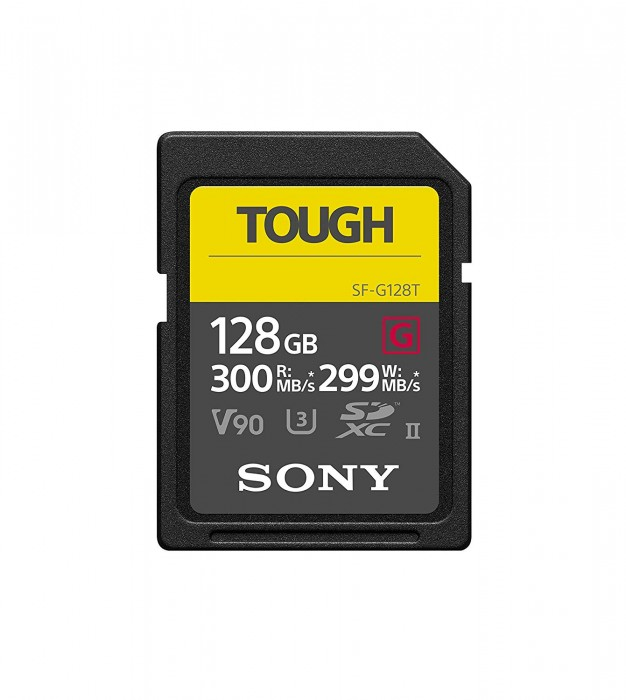 Thẻ nhớ  SONY Tough SDXC 128 GB ( SF-G64T)