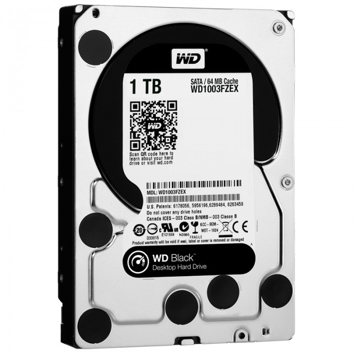 "Ổ cứng WD Black 1TB 3.5"" - WD1003FZEX"