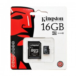 Thẻ nhớ Micro Kingston 16GB Class 10 45MB/s kèm Adapter