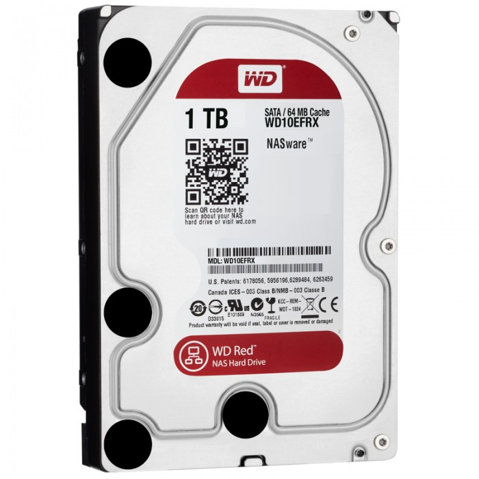 "WD HDD Caviar Red 1TB 3.5""( WD10EFRX)"