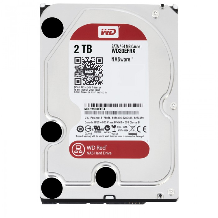 "WD HDD Caviar Red 2TB 3.5""( WD20EFRX)"