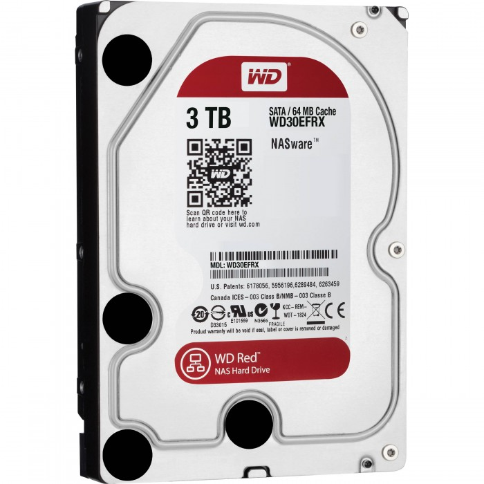 "WD HDD Caviar Red 3TB 3.5""( WD30EFRX)"