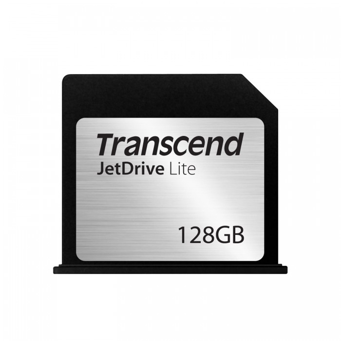 Thẻ nhớ Transcend's JetDrive Lite 130 MLC 128 GB Storage expansion cards cho MacBook Air 13″ [Late 2010 – Early 2015]
